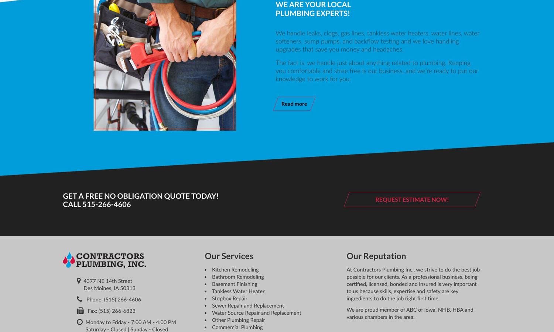 Contractors Plumbing Inc Amplimark Llc