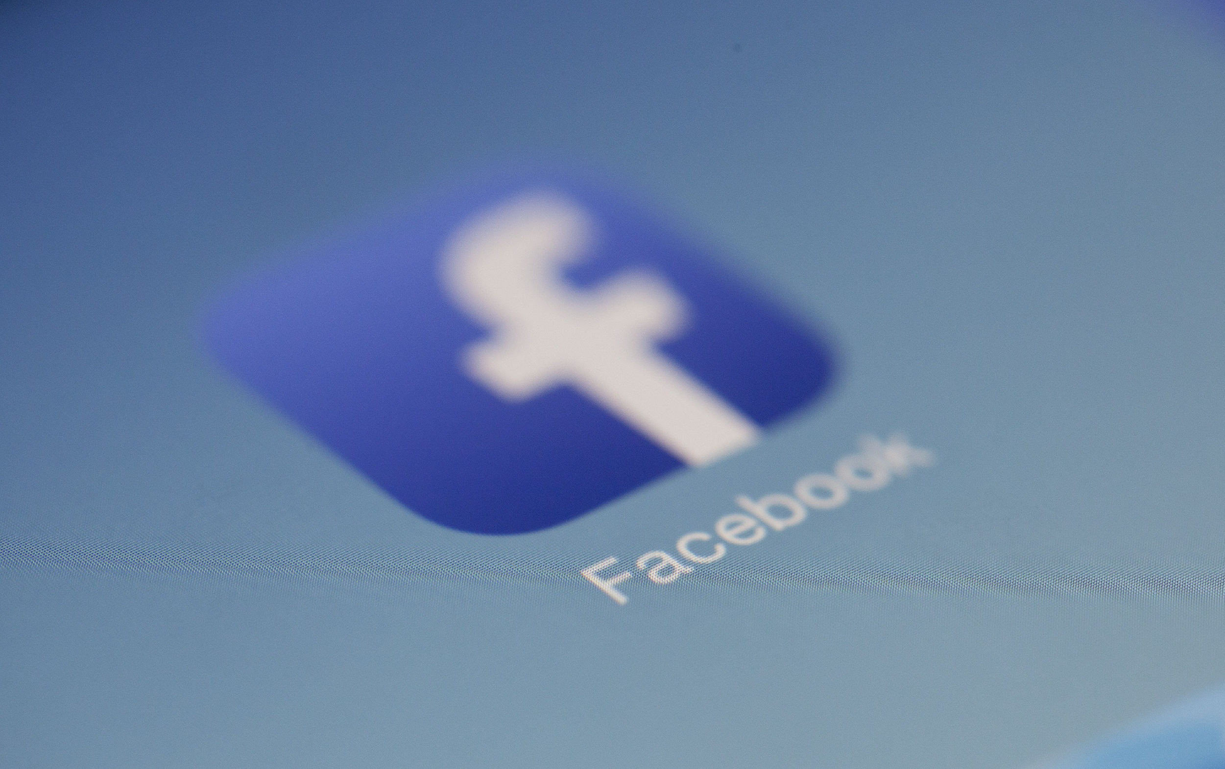 Facebook Icon to represent social media